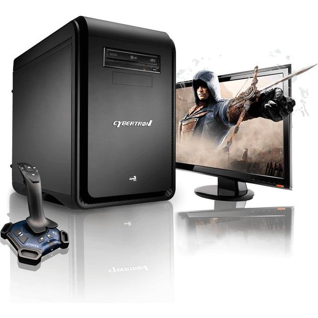 CybertronPC DS-Force I GMDSFORCEI15BK Desktop Computer - AMD FX-Series FX-6300 3.50 GHz - Black