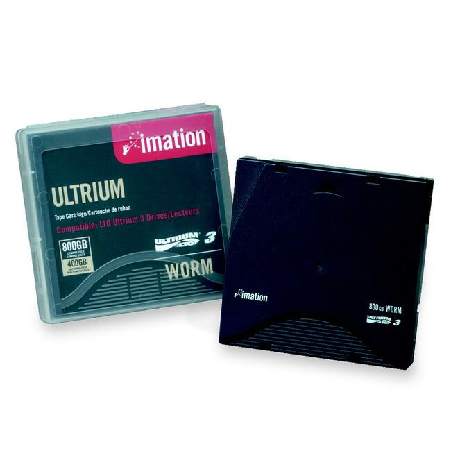 Imation LTO Ultrium 3 Labeled Without Case Tape Cartridge