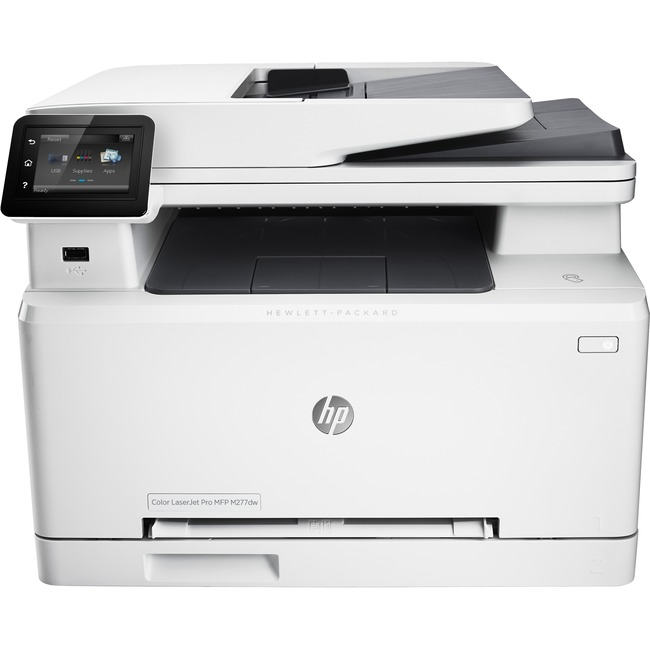 HP LaserJet M277DW Laser Multifunction Printer - Color - Plain Paper Print - Desktop