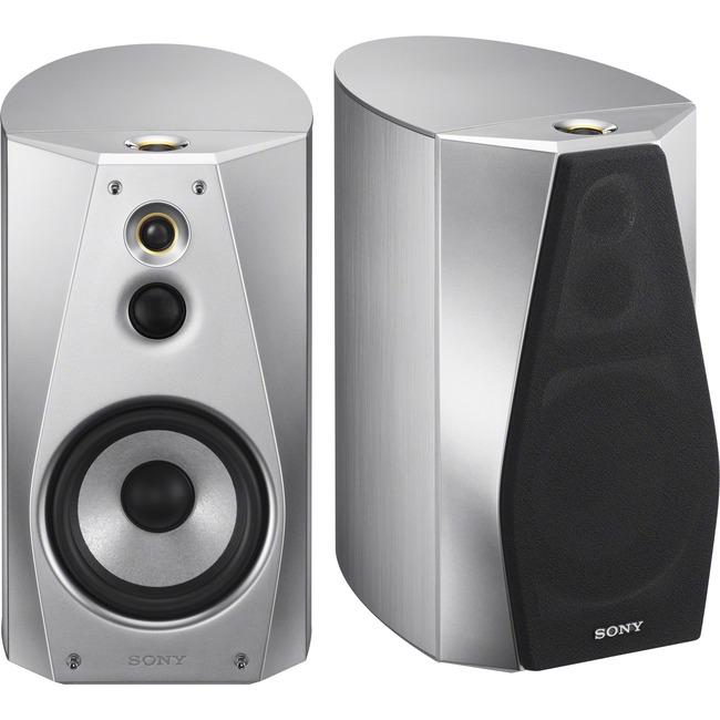 Sony SS-HA1 120 W RMS Speaker - 3-way - 2 Pack - Silver