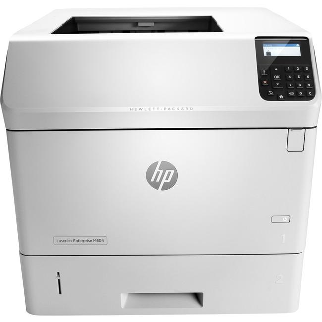 HP LaserJet M604n Laser Printer - Monochrome - 1200 x 1200 dpi Print - Plain Paper Print - Desktop
