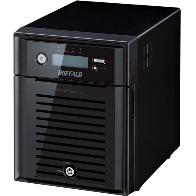 BUFFALO TeraStation 5400 4-Drive 16 TB Desktop NAS for Small/Medium Business SMB (TS5400DN1604)