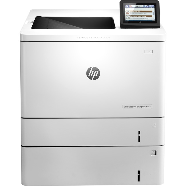 HP LaserJet M553x Laser Printer - Color - 1200 x 1200 dpi Print - Plain Paper Print - Desktop
