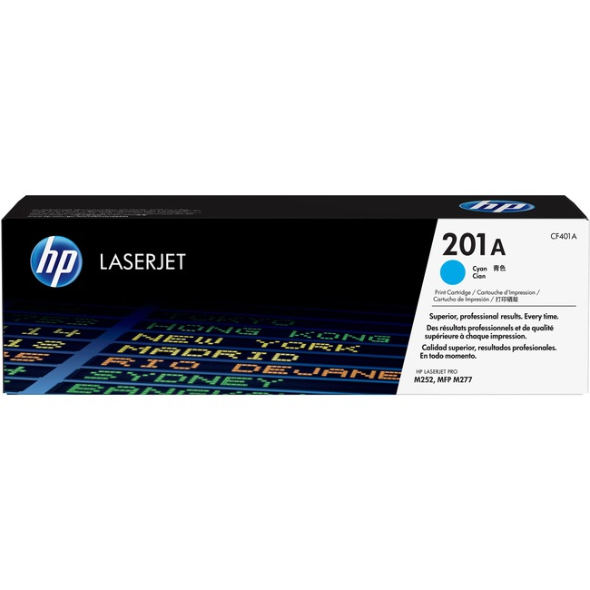 HP 201A Original Toner Cartridge - Cyan