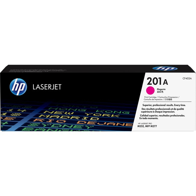HP 201A Original Toner Cartridge - Magenta