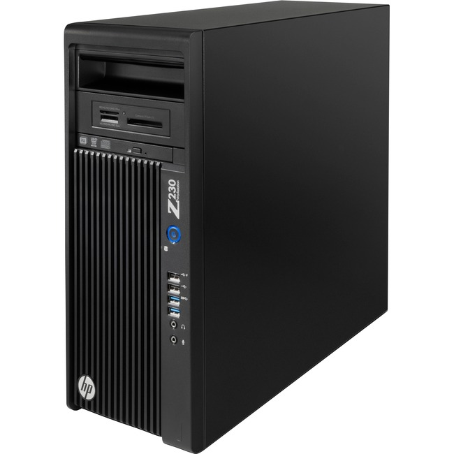 HP Z230 Workstation - 1 x Intel Core i7 (4th Gen) i7-4770 Quad-core (4 Core) 3.40 GHz - 16 GB DDR3 SDRAM - 256 GB SSD -
