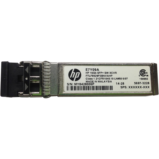 HP 16 GB SFP+ Short Wave Extended Temp Transceiver