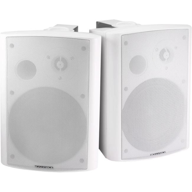 Monoprice MPA-25-WH Speaker System - 25 W RMS - Wall Mountable - White