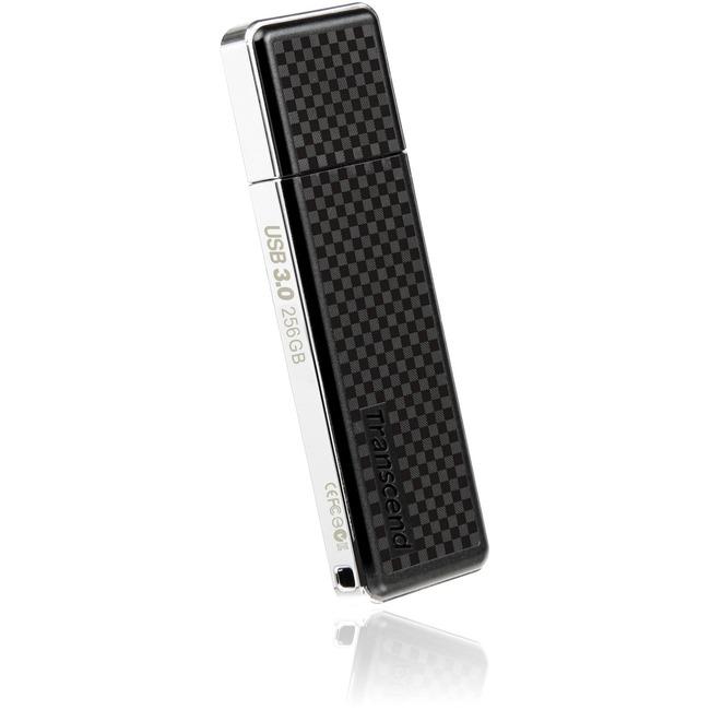 Transcend 256GB JetFlash 780 USB 3.0 Flash Drive - 256 GB - USB 3.0 - Black - Lifetime Warranty