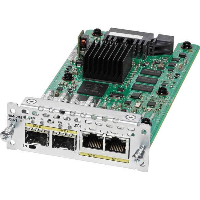 Cisco 2-Port Gigabit Ethernet WAN Network Interface Module