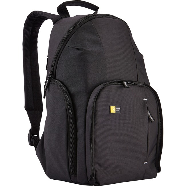 Case Logic Compact Carrying Case (Backpack) for iPad, Accessories, Camera - Black