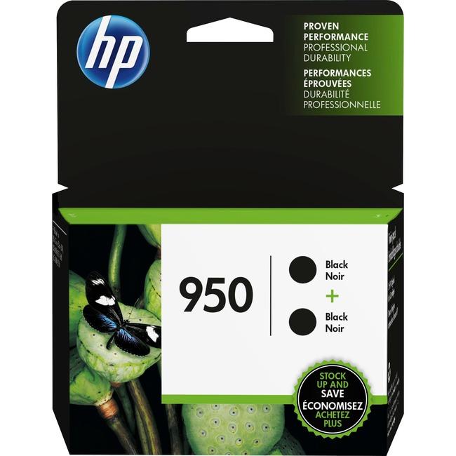 HP INC. - INK HP 950 BLACK INK CARTRIDGE 2PK NA