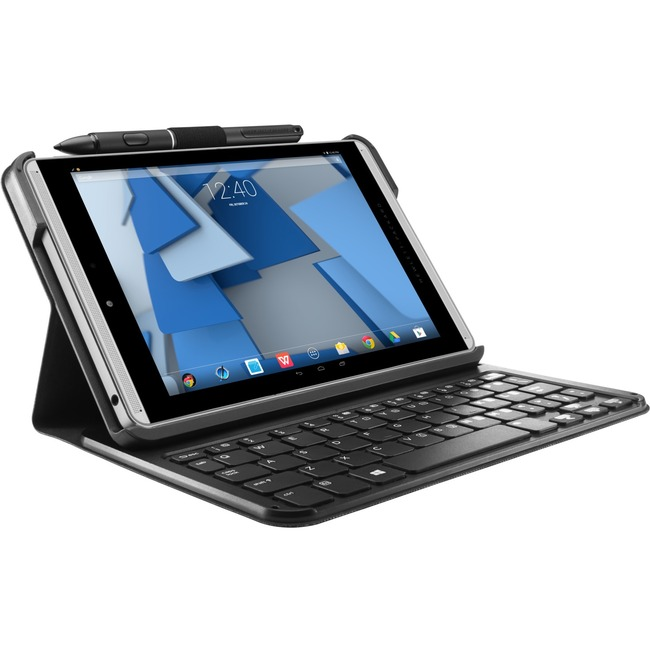 HP Keyboard/Cover Case (Folio) Tablet - Graphite