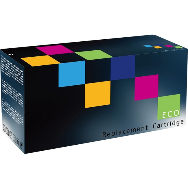 Eco Compatibles Toner Cartridge - Remanufactured for Brother TN326BK - Black - Laser