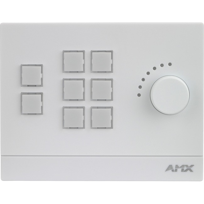 AMX 8-Button Massio Keypad with Knob (US, UK, EU)