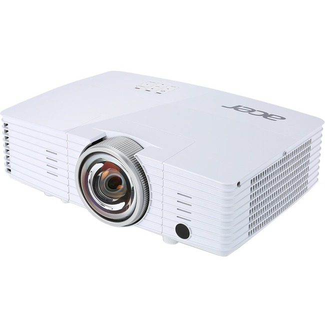 Acer S1385WHne 3D Ready DLP Projector - 720p - HDTV - 16:10