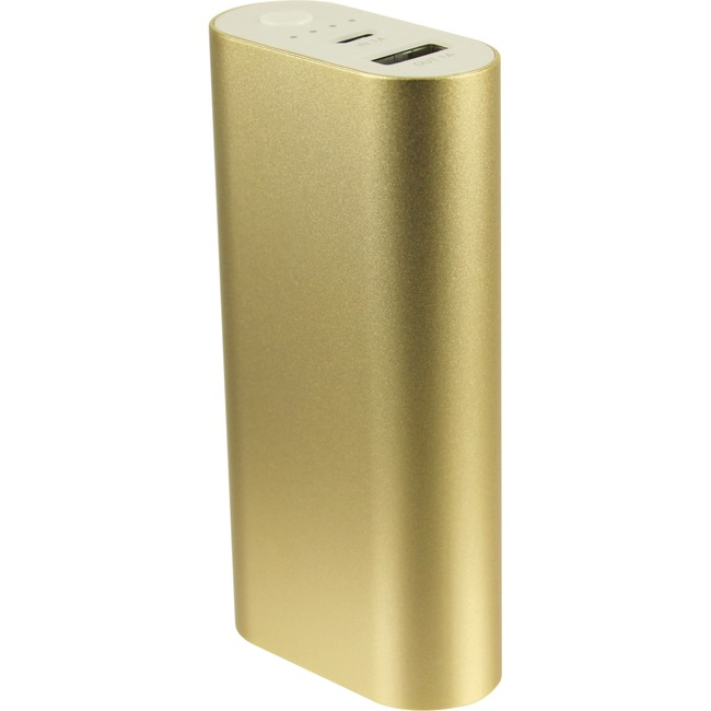 Apelpi Bar 5200mAh - Gold Portable External Battery Charger