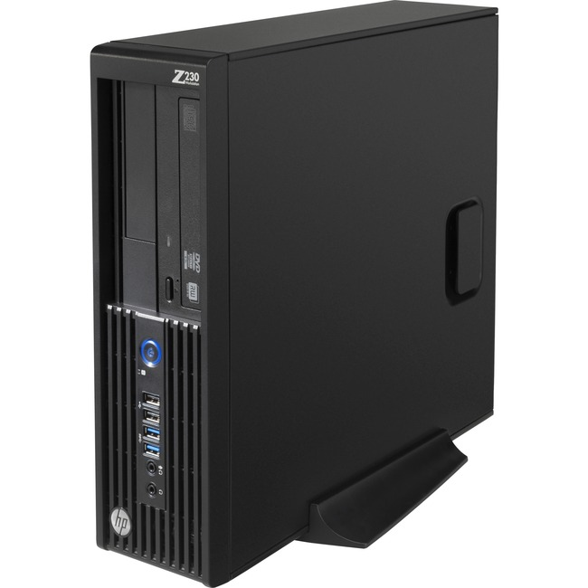 HP Z230 Workstation - 1 x Intel Xeon E3-1231 v3 Quad-core (4 Core) 3.40 GHz - 8 GB DDR3 SDRAM - 128 GB SSD - Windows 7 P