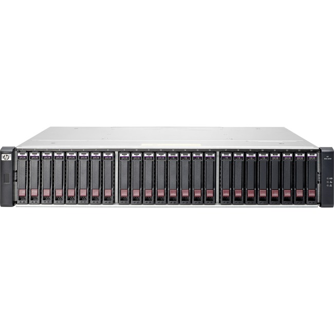 HP 2040 SAN Array - 12 x HDD Supported - 96 TB Supported HDD Capacity