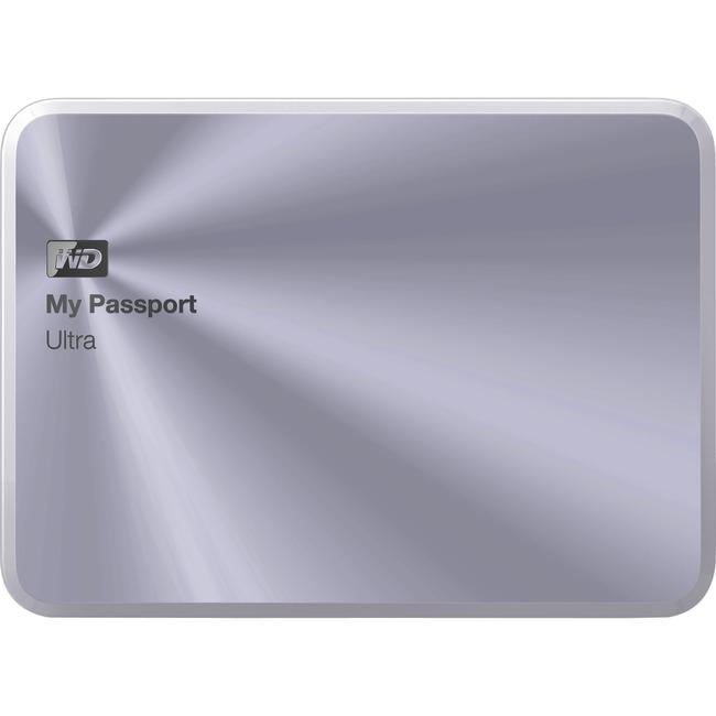 WESTERN DIGITAL - RETAIL DRIVES MY PASSPORT ULTRA 3TB USB 3.0 METAL DRIVE SILVER