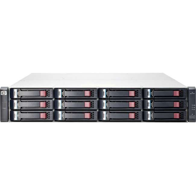 HP 2040 DAS Array - 12 x HDD Supported - 96 TB Supported HDD Capacity