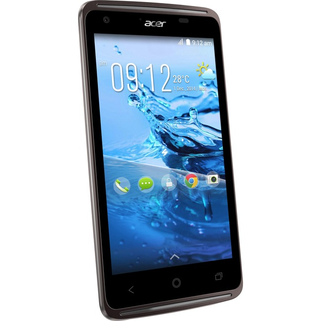 Acer Liquid Z410 Smartphone - 16 GB Built-in Memory - Wireless LAN - 4G - Bar - Black