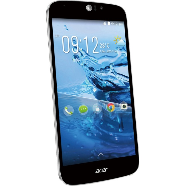 Acer Liquid Jade Z S57 Smartphone - 16 GB Built-in Memory - Wireless LAN - 4G - Bar - Black