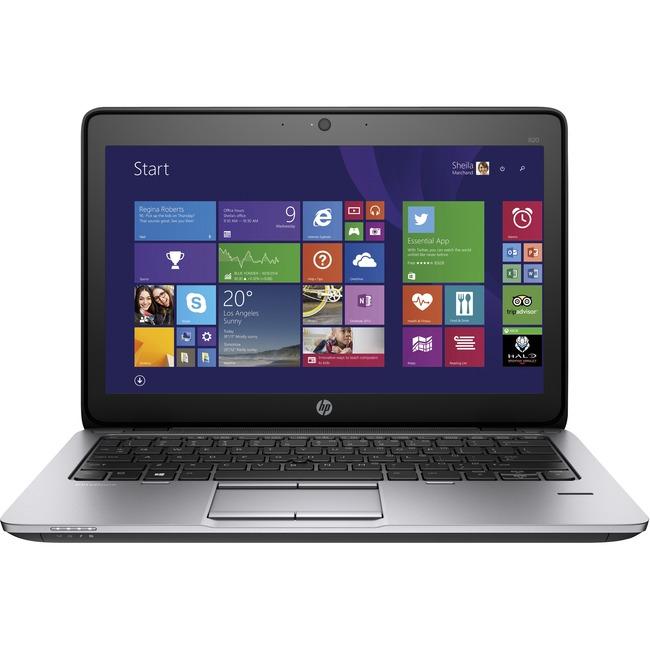 """HP EliteBook 820 G2 12.5"""" Notebook - Intel Core i5 i5-5200U Dual-core (2 Core) 2.20 GHz - Carbon Silver"""