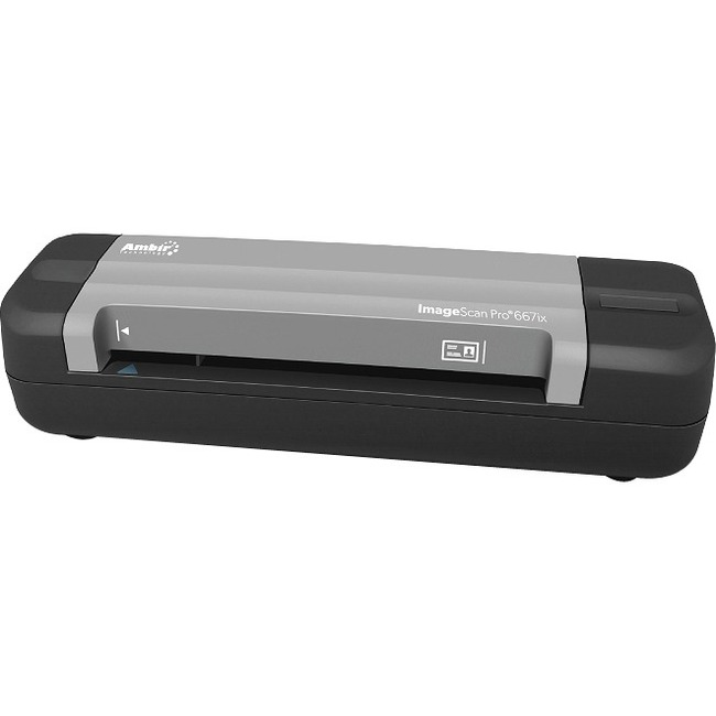 Ambir ImageScan Pro 667ix Sheetfed Scanner - 600 dpi Optical