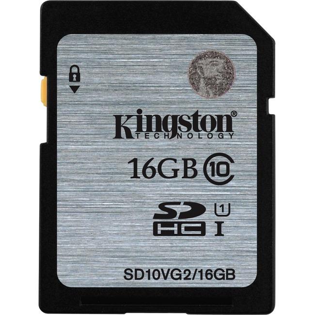 KINGSTON - DIGITAL IMAGING 16GB SDHC READ FLASH CARD CLASS 10 UHS-I 45MB/S