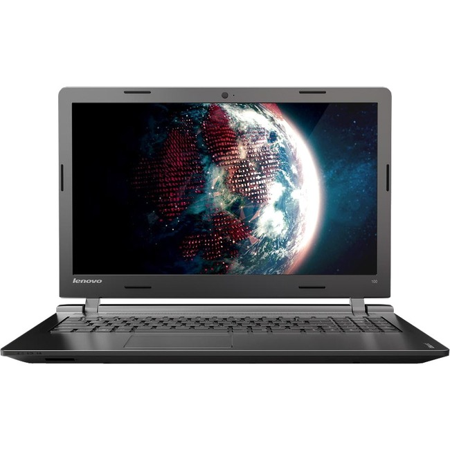 "Lenovo IdeaPad 100-15IBY 80MJ00AEUS 15.6"" LCD Notebook - Intel Pentium N3540 Quad-core (4 Core) 2.16 GHz - 4 GB DDR3L SD"