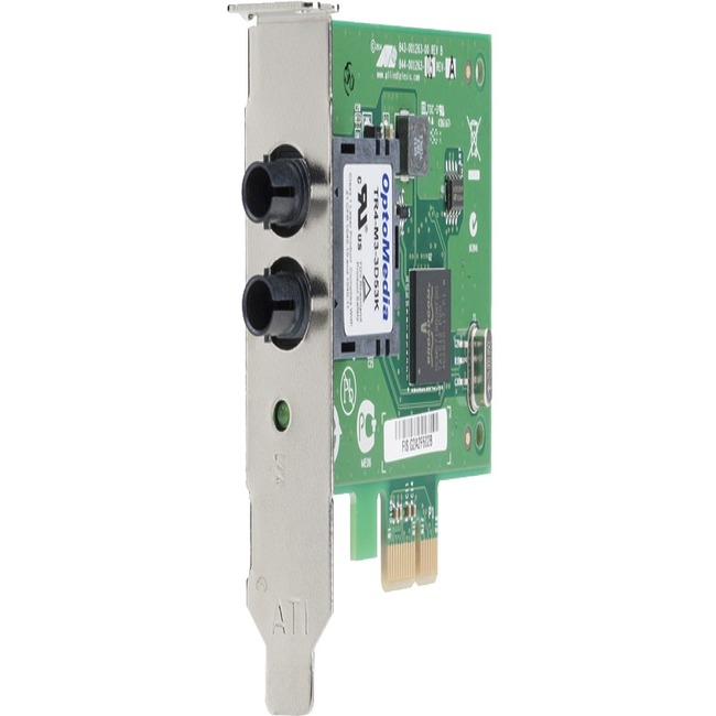Allied Telesis 1000SX ST PCI Express x1 Adapter Card