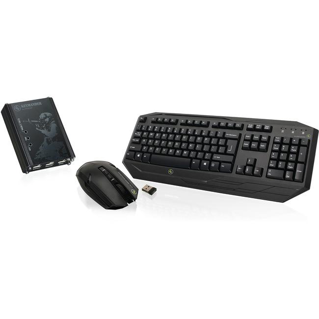 IOGEAR Keymander Wireless Keyboard & Mouse Bundle