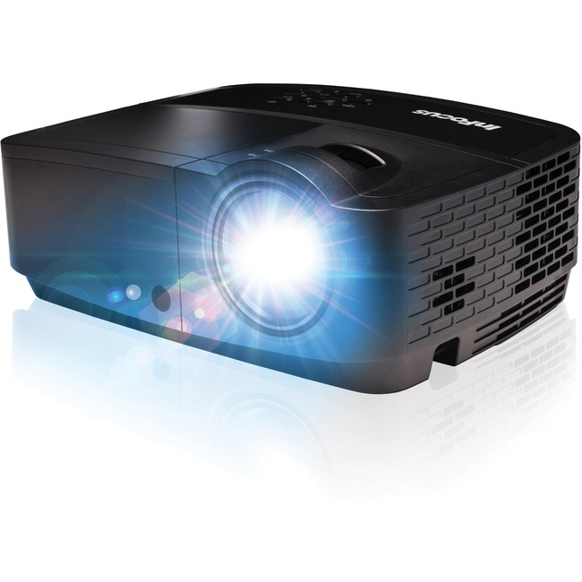 InFocus IN116x Projector,WXGA (1280 x 800) resolution,Up to 10,000-hour lamp,320
