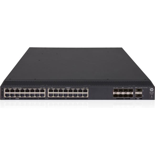 HP FlexFabric 5700-32XGT-8XG-2QSFPplus 32 Ports Manageable Layer 3 Switch
