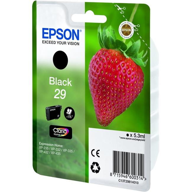 Epson 29 - Black - Original - Ink cartridge - for Expression Home XP-235, XP-332, XP-335, XP-432, XP-435