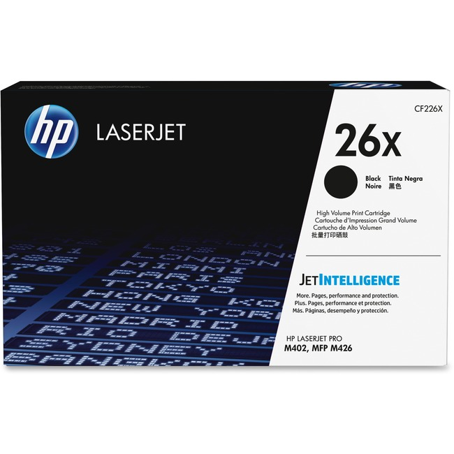 HP 26X Original Toner Cartridge | Black