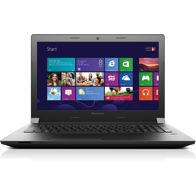 "Lenovo B40-80 80F6008AUS 14"" LCD Notebook - Intel Celeron 3205U Dual-core (2 Core) 1.50 GHz - 4 GB DDR3L SDRAM - 500 GB"