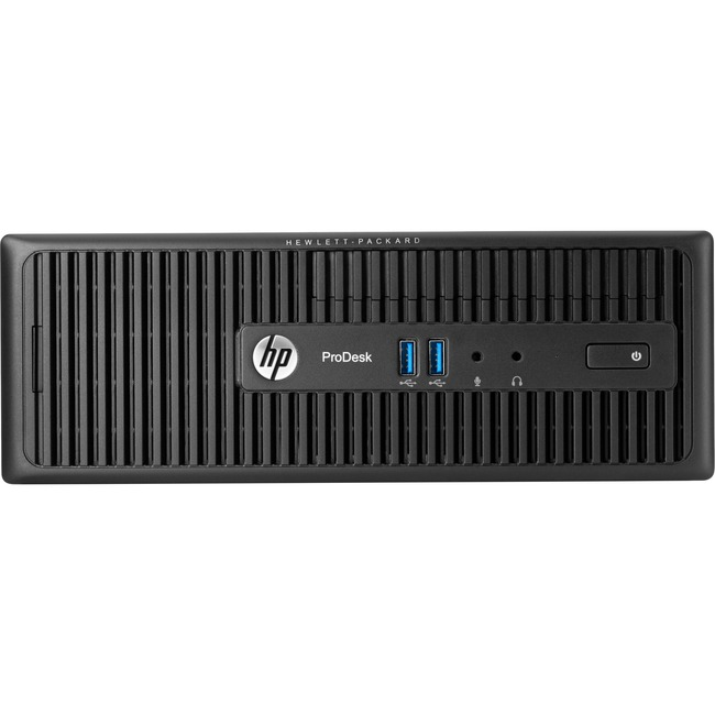 HP Business Desktop ProDesk 400 G2.5 Desktop Computer - Intel Core i3 (4th Gen) i3-4170 3.70 GHz - 4 GB DDR3L SDRAM - Wi