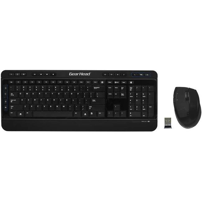 Gear Head Wireless Media Pro II Keyboard and Optical Mouse