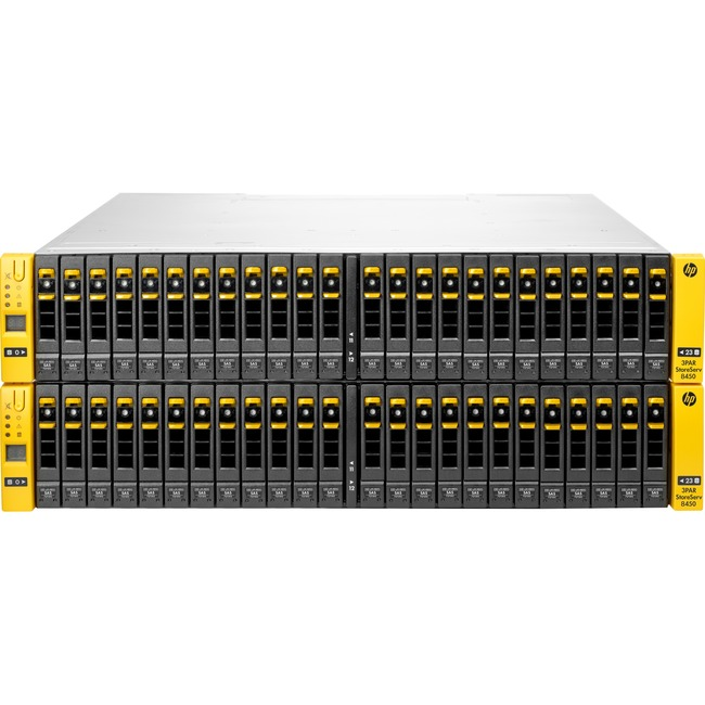 HP 3PAR StoreServ 8450 SAN Array - 48 x HDD Supported
