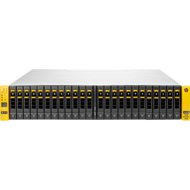 HP 3PAR StoreServ 8400 SAN Array - 24 x HDD Supported