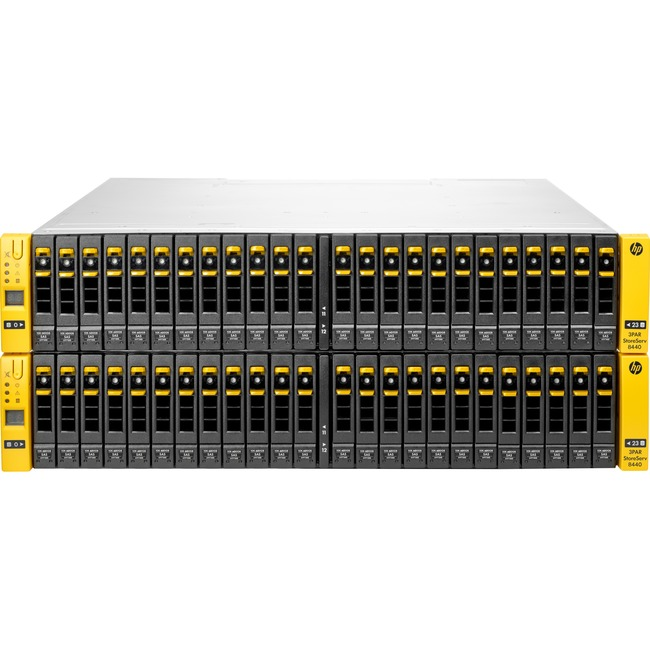 HP 3PAR StoreServ 8440 SAN Array - 48 x HDD Supported