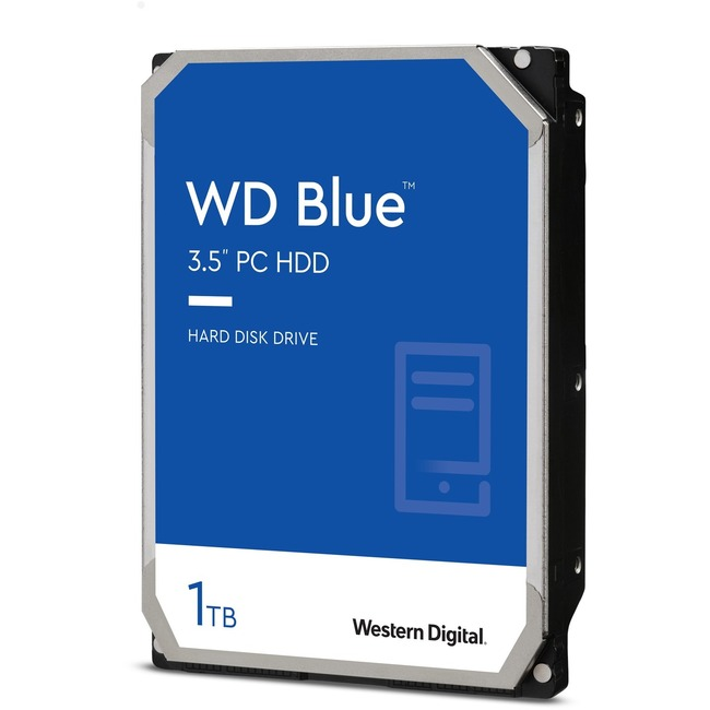 WD Blue 1 TB 3.5-inch SATA 6 Gb/s 5400 RPM PC Hard Drive
