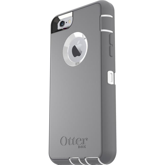 "OtterBox (5.5"") 7752134 Defender iPhone 6/6s White/Grey"