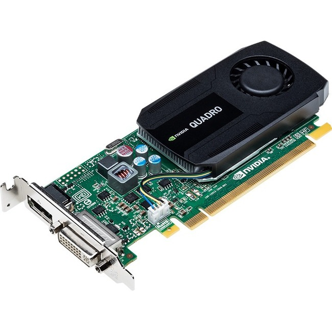 PNY Quadro K420 Graphic Card | 2 GB DDR3 SDRAM | PCI Express 2.0 x16 | Low-profile | Single Slot Space Required