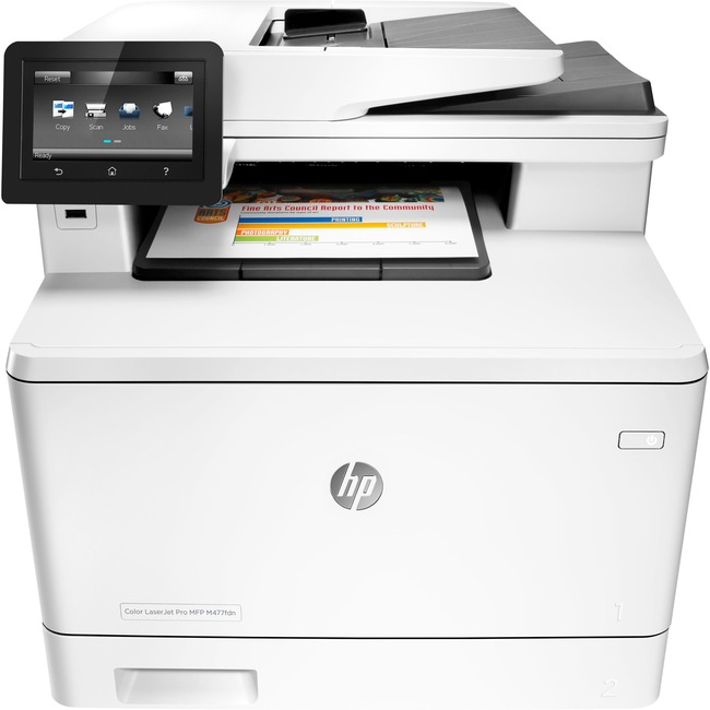 HP LaserJet Pro M477fdn Laser Multifunction Printer - Plain Paper Print