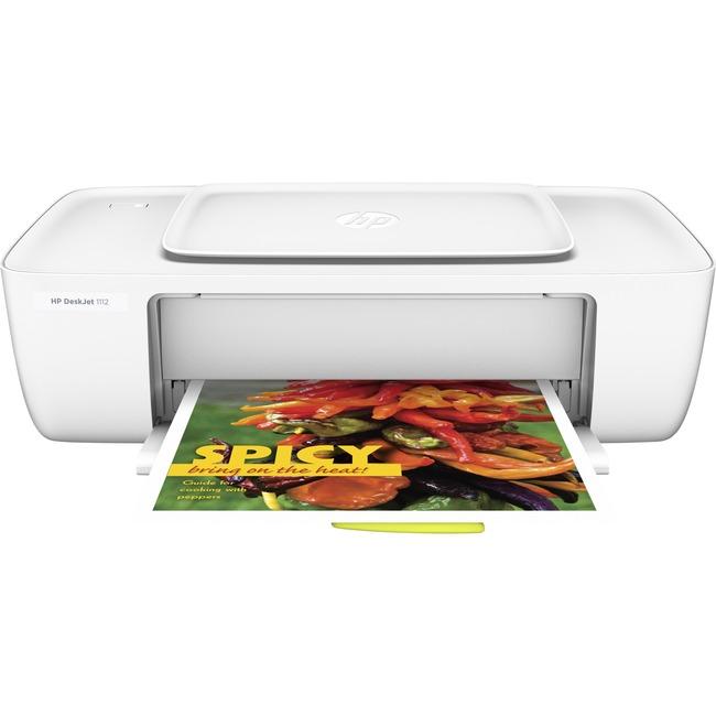 HP Deskjet 1112 Inkjet Printer - Color - 4800 x 1200 dpi Print - Plain Paper Print - Desktop