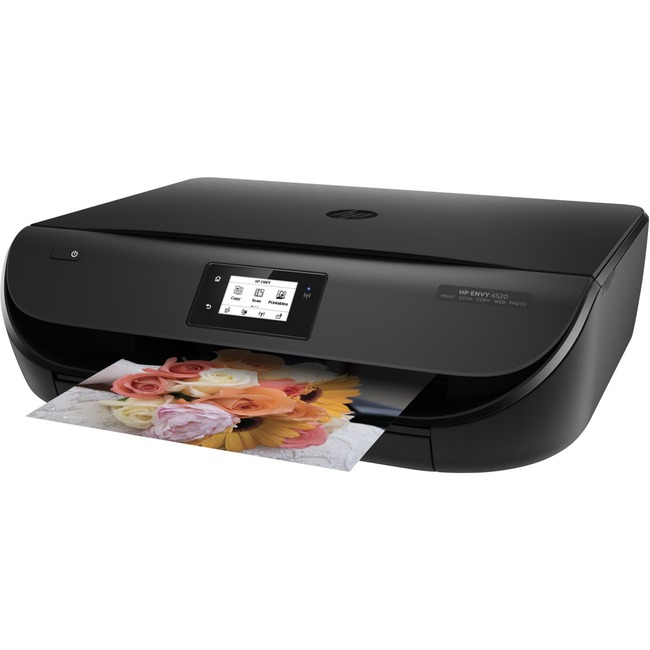 HP Envy 4520 Inkjet Multifunction Printer - Color - Plain Paper Print - Desktop