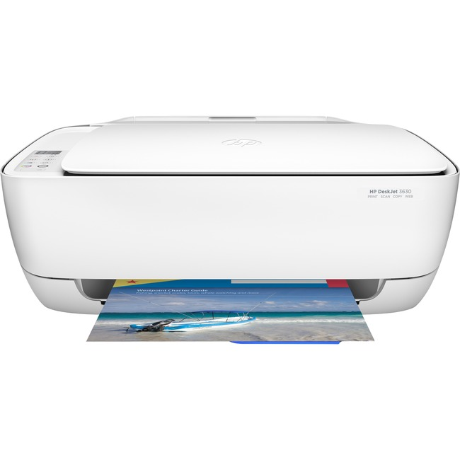 HP Deskjet 3630 Inkjet Multifunction Printer - Color - Plain Paper Print - Desktop